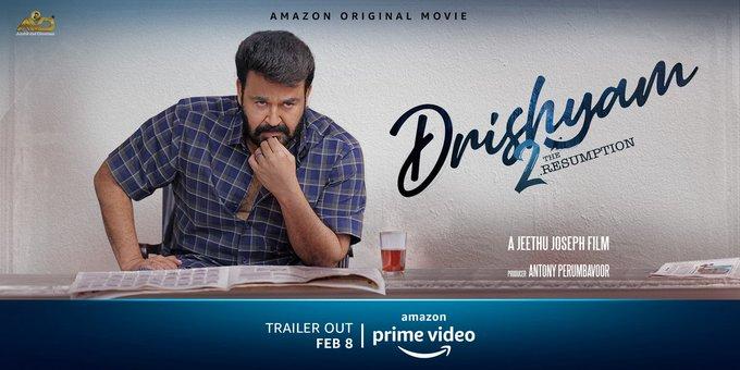 Drishyam 2 To Premiere On Prime Video